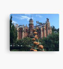 Haunted Mansion - Halloween Canvas Print
