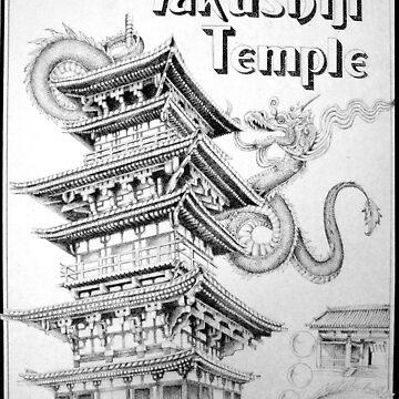 Yakushiji temple by kelvinlee