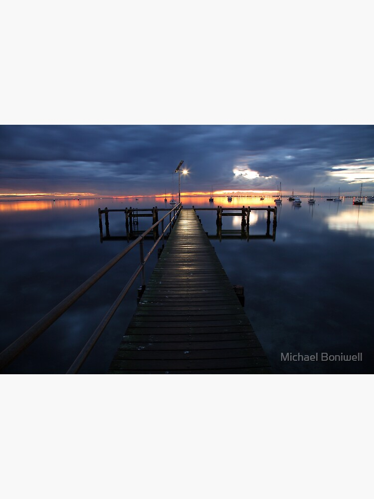 A Winter's Dawn on the Pier, Australia by Chockstone