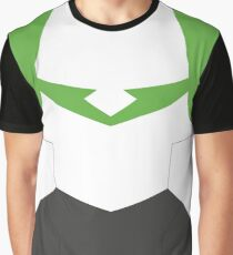 Green Paladin Armor Graphic T-Shirt