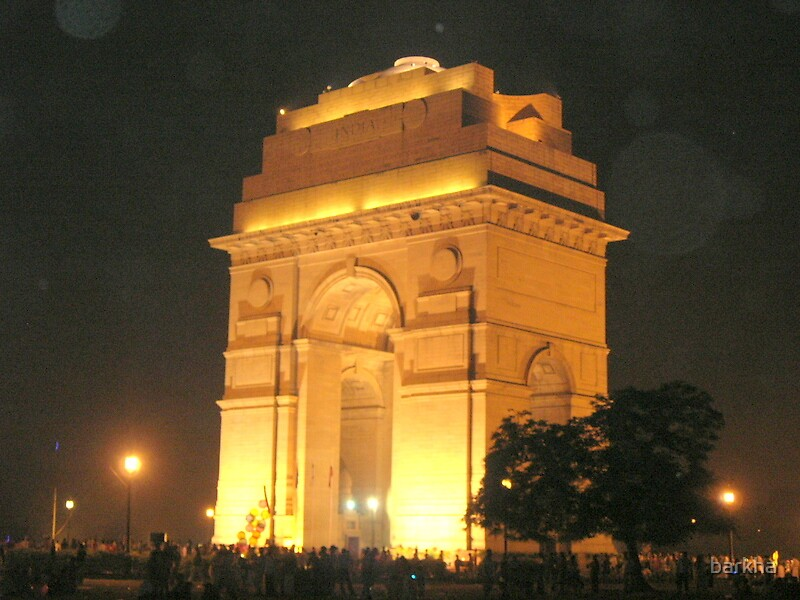 India Gate by barkha