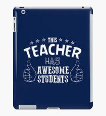 teacher iPad Case/Skin