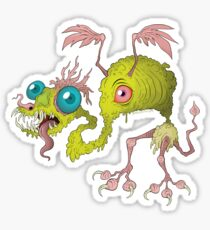 Skuzzy Dragon Sticker