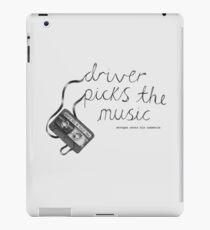 Driver Picks The Music Shotgun Shuts His Cakehole iPad-Hülle & Klebefolie