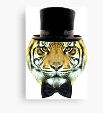 formal tiger Canvas Print