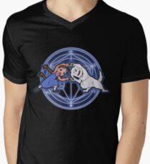 Fullmetal Fusion Ha! ver.original Men's V-Neck T-Shirt