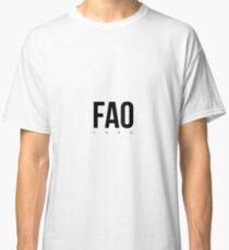 FAO - Faro Airport Code Classic T-Shirt
