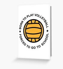 Volleyball Greeting Card