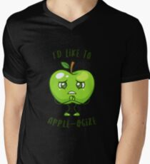 Sad Green Apple Apologize T-Shirt