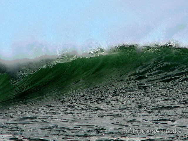 Offshore Wave by SoulSurfingArtworks