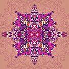 Purple pattern by Losenko  Mila