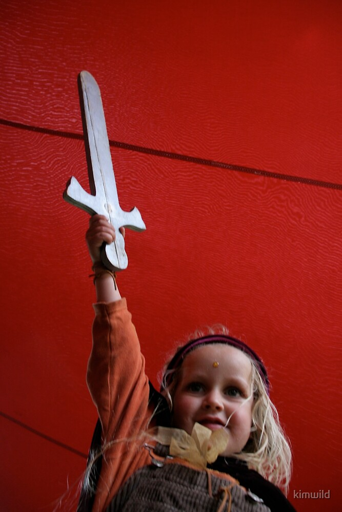 The Little Warrior 2 by kimwild