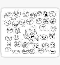 testsheety faces + Jobe Sticker