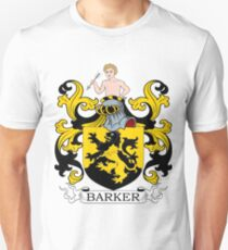 Barker Coat of Arms Unisex T-Shirt