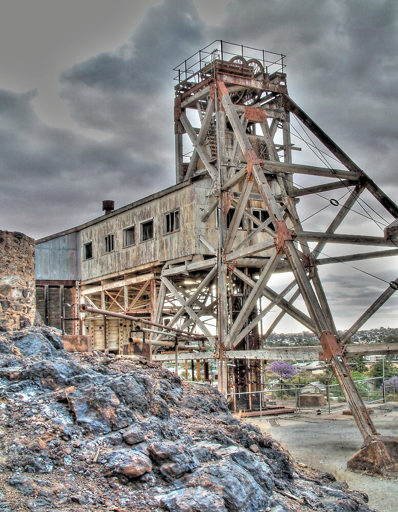 The Old Mine by Rod Wilkinson