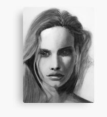 Turn of a friendly card Canvas Print