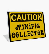 Caution Minifig Collector Sign  Laptop Skin