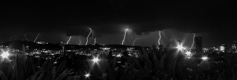 Lightning Strikes by Johann  Koch