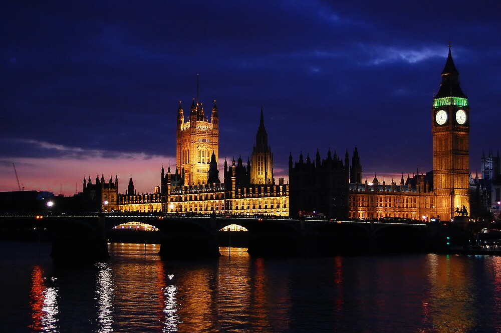 Houses of Parliament by silverfish