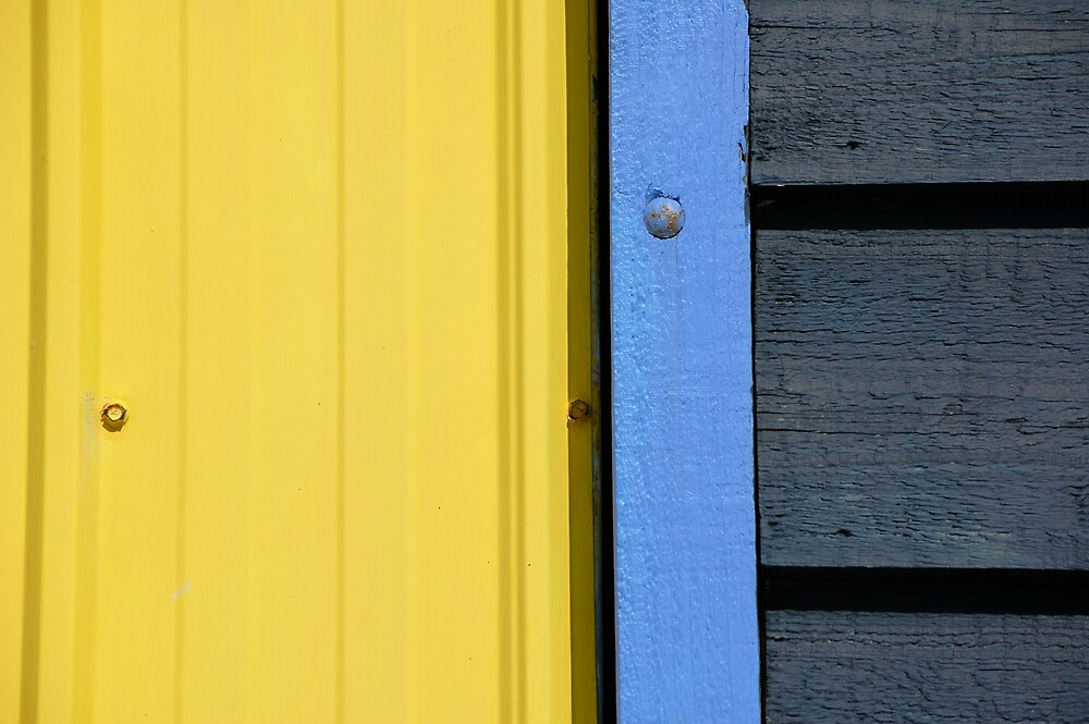 Blue Beach House by Roslyn Slater