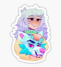 bakura but he is a straight up furry Sticker