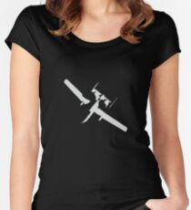 A10 Warthog Silhouette Women's Fitted Scoop T-Shirt