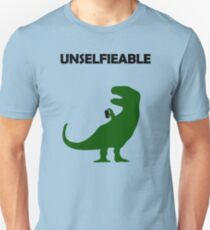 Unselfieable T-Rex T-Shirt