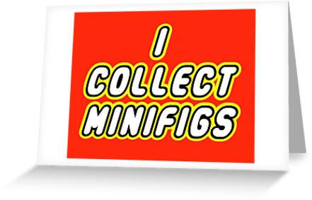 I COLLECT MINIFIGS  by Customize My Minifig