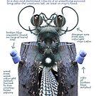 Blue insulators by Anjo Lafin