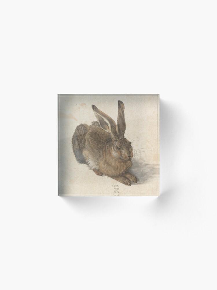 Alternate view of  Albrecht Dürer - Young Hare 1502 Acrylic Block