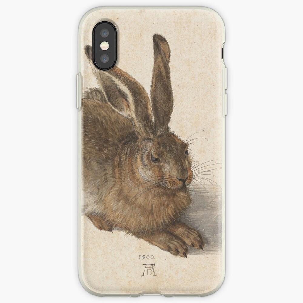 Albrecht Dürer - Young Hare 1502 iPhone Case & Cover