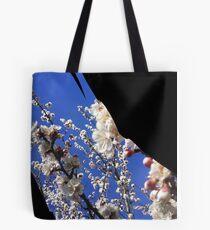 Flowering Plum Tree, by Urban Gardens Tote Bag