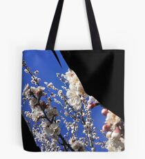 Flowering Plum Tree, by Urban Gardens Tote Bag