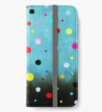 Dress - RUTH FITTA-SCHULZ - Polka Dots Abstract Vintage Art iPhone Wallet/Case/Skin