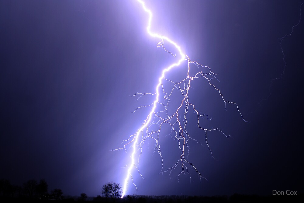 powerful bolt by Don Cox