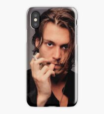 Johnny Depp Smoking Young Hot iPhone Case/Skin
