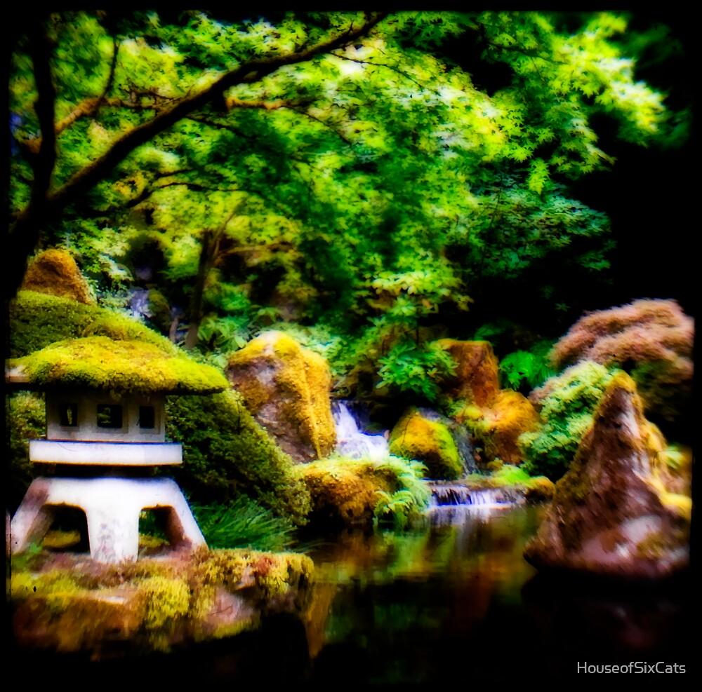 Garden Dream by HouseofSixCats