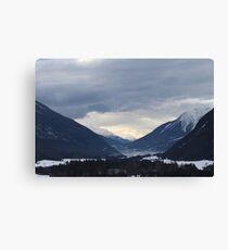 mountains in austria Canvas Print