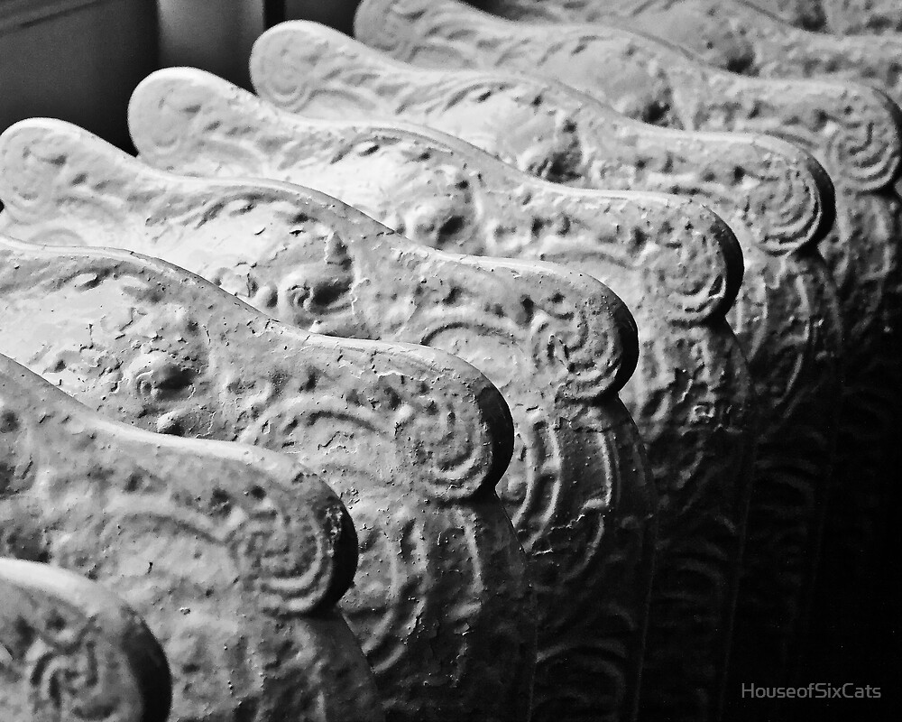 Victorian Radiator by HouseofSixCats