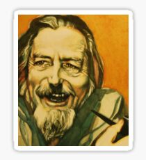 Alan Watts Artwork Sticker