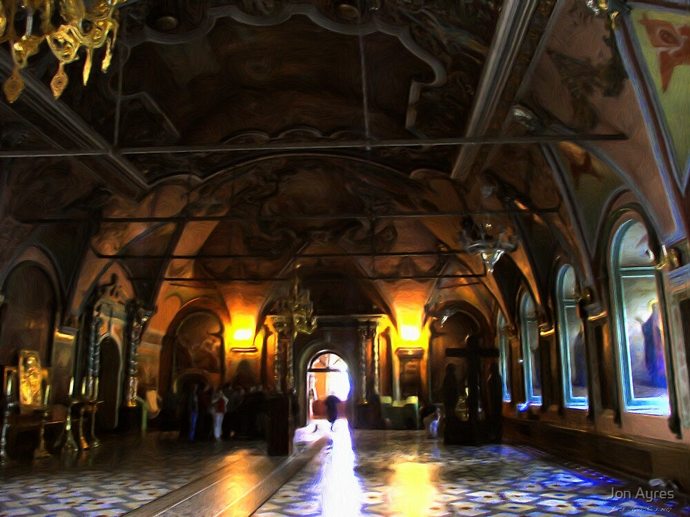Inside the Tsar's Palace3 by Jon Ayres