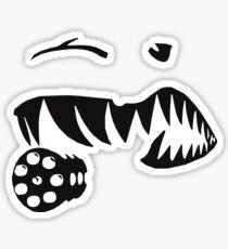 A10 Warthog Teeth Sticker