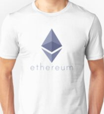 Ethereum Logo (with Text) T-Shirt