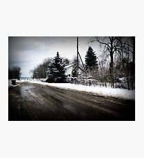 ...outskirts of a small town... Photographic Print