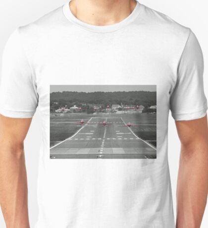 The Red Arrows Take Off - Wheels Up T-Shirt