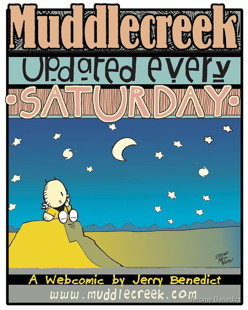 Muddlecreek Poster by Jerome Benedict