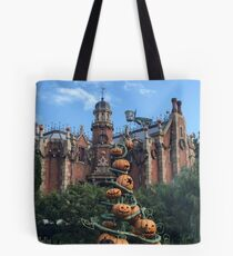 Haunted Mansion - Halloween Tote Bag
