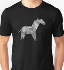 Origami Zebra Unisex T-Shirt