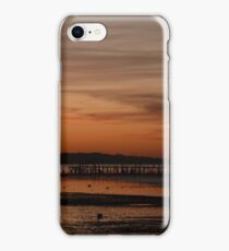 Sunset at Evening Hill, Poole Harbour iPhone Case/Skin