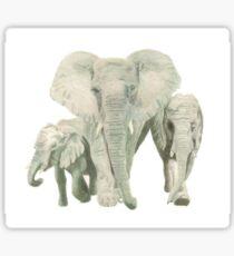 """Elephants"" Sticker"